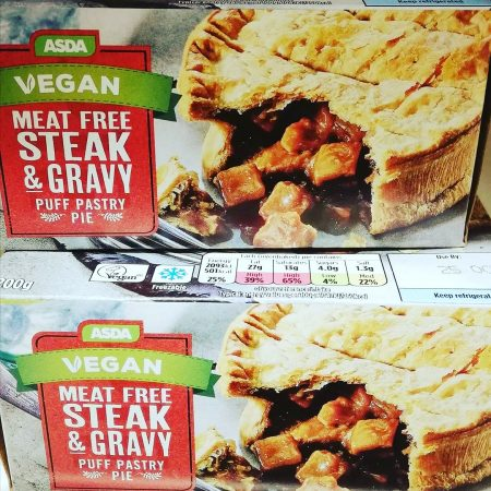 Asda Vegan Meat Free Steak & Gravy Pie