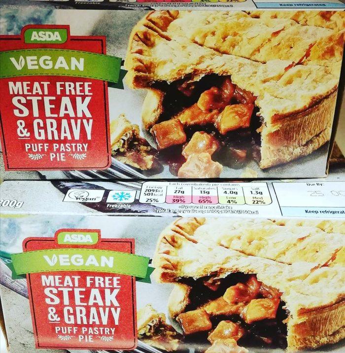Asda Vegan Meat Free Steak & Gravy Pie