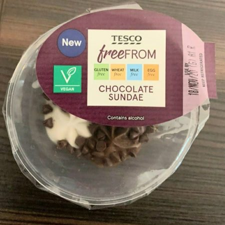 Tesco Free From Chocolate Sundae