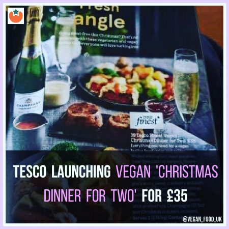 Tesco To Launch Vegan Christmas Dinner For Two