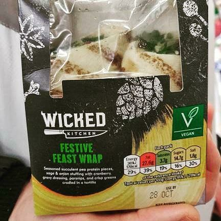 Tesco Wicked Kitchen Festive Feast Wrap
