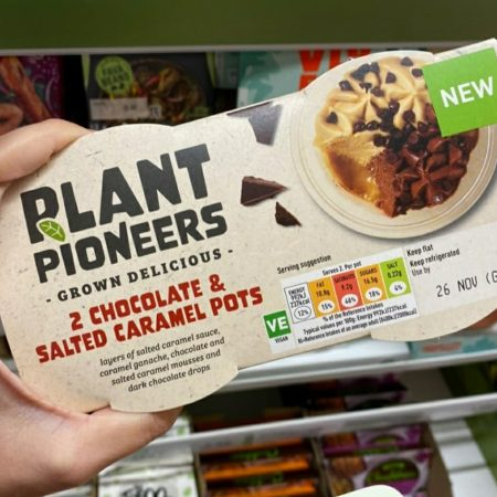 Plant Pioneers 2 Chocolate & Salted Caramel Pots