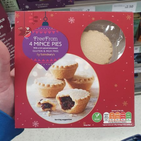 Sainsbury's Free From Mince Pies 230g