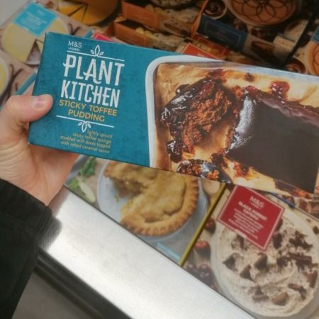 M&S Plant Kitchen Sticky Toffee Pudding