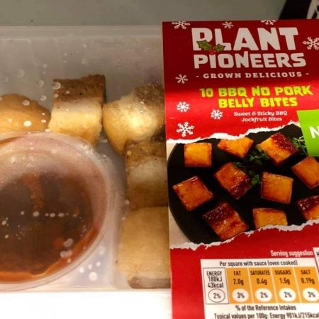 Sainsbury's Plant Pioneers 10 BBQ No Pork Belly Bites