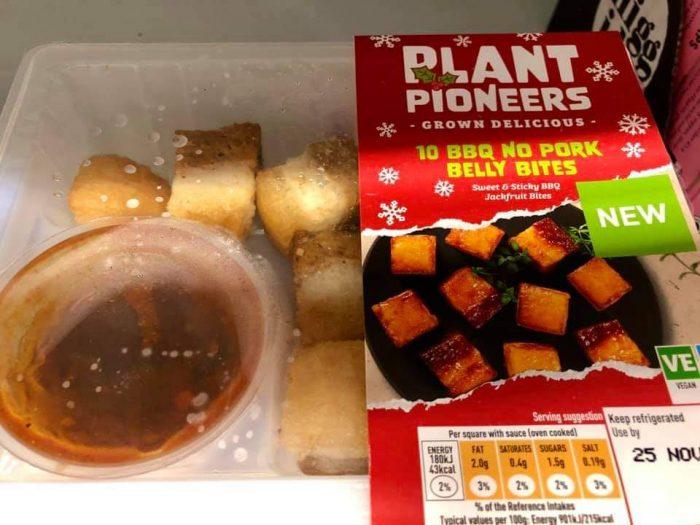 Sainsbury's Plant Pioneers 10 BBQ No Pork Belly Bites