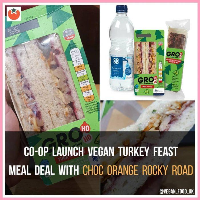 Co-op Launch Vegan Turkey Feast Meal Deal