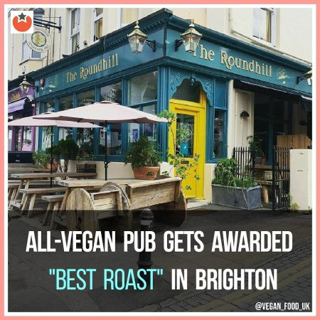 All-Vegan Pub Gets Awarded Best Roast In Brighton