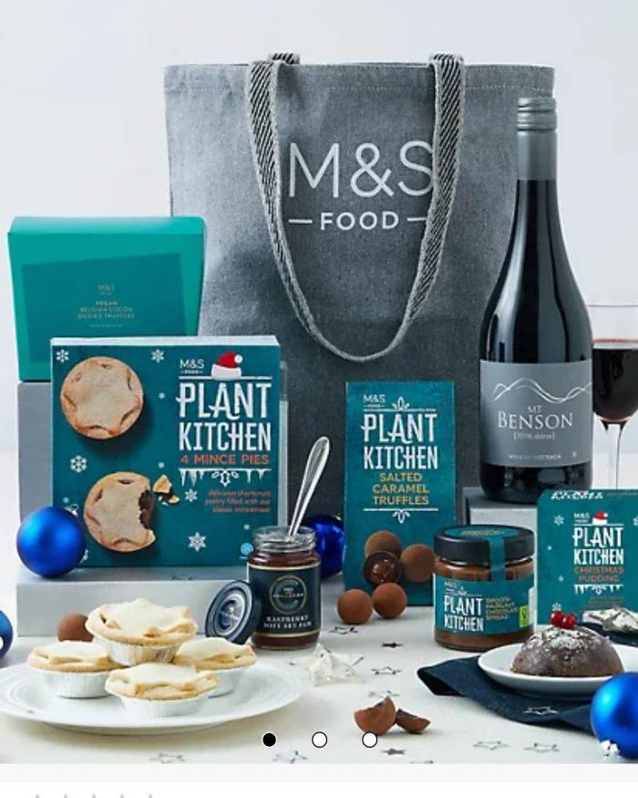 M&S Launch Vegan Festive Hamper