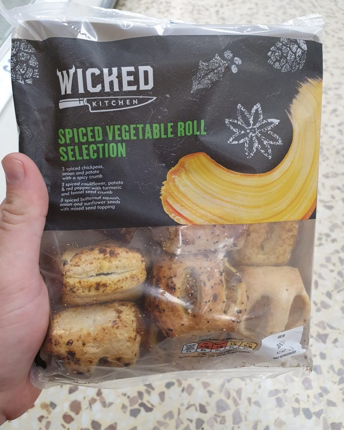 Wicked Kitchen Spiced Vegetable Roll Selection 270g