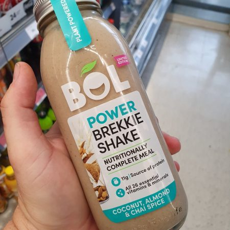 BOL Limited Edition Power Breakfast Shake Coconut, Almond & Chai Spice 450g