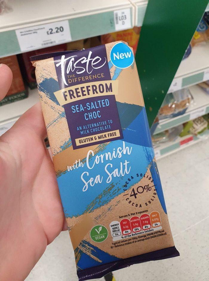 Sainsbury's Taste The Difference Sea Salted Chocolate