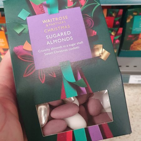 Waitrose Sugared Almonds 175g