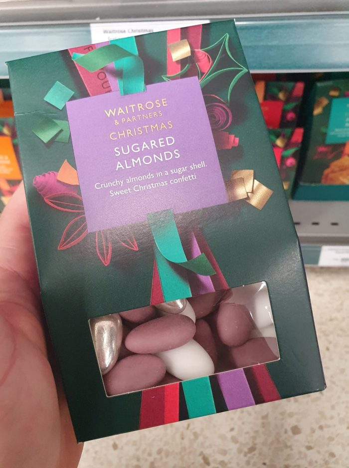 Waitrose Sugared Almonds 175g