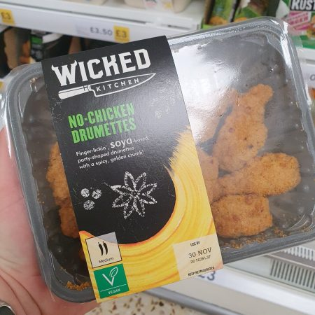 Wicked Kitchen No Chicken Drumettes 250g