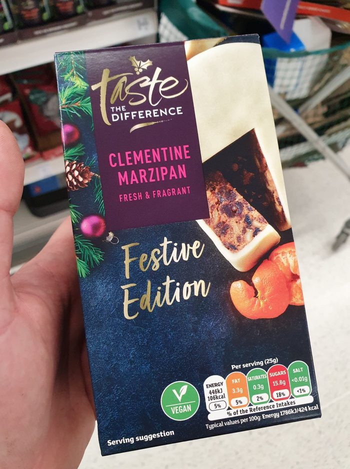 Sainsbury's Taste The Difference Clementine Marzipan 454g