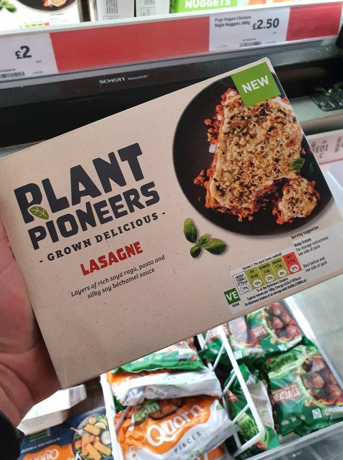 Plant Pioneers Vegan Meat-Free Lasagne 400g