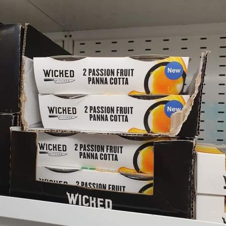 Wicked Kitchen 2 Passion Fruit Panna Cotta 2X120g