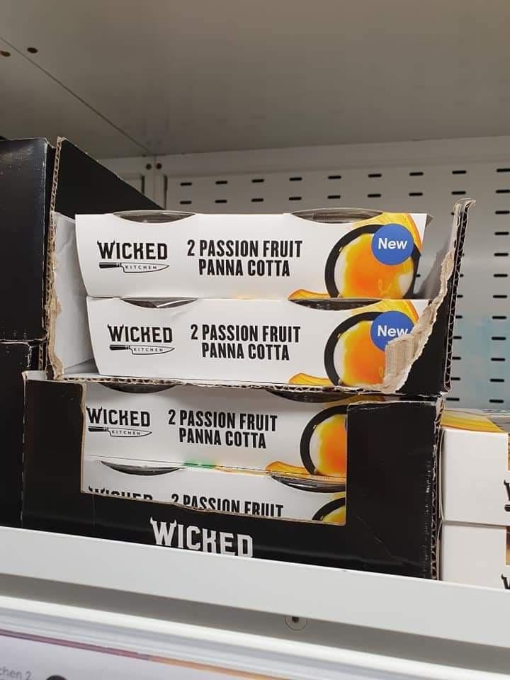 Wicked Kitchen 2 Passion Fruit Panna Cotta 2X120g