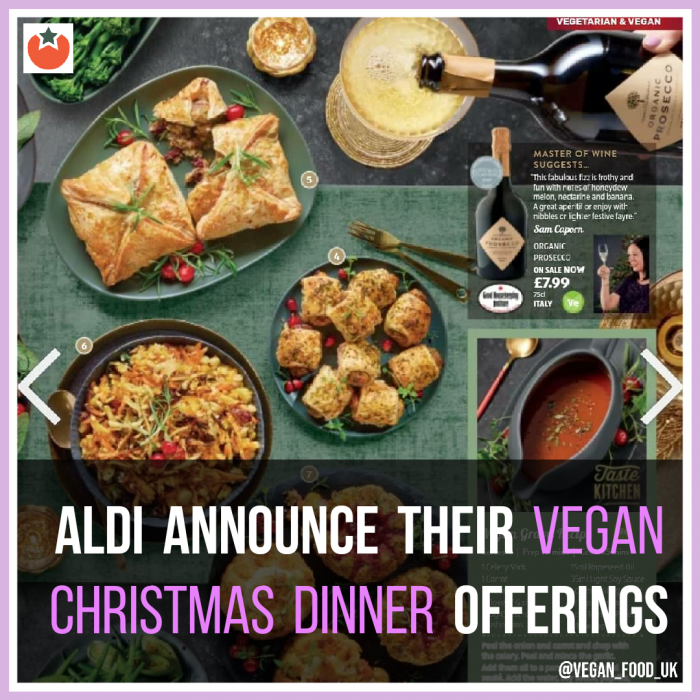 What's On Offer For Vegans At Aldi This Christmas