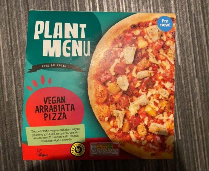 Aldi Plant Menu Vegan Arrabbiata Pizza