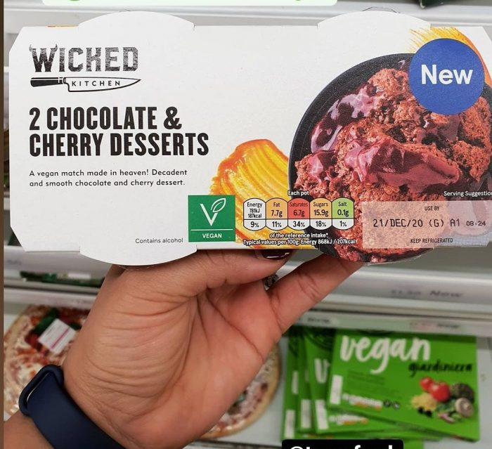 Wicked Kitchen 2 Chocolate & Cherry Desserts 2X90g