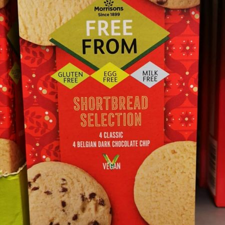 Morrisons Free From Vegan Shortbread Selection