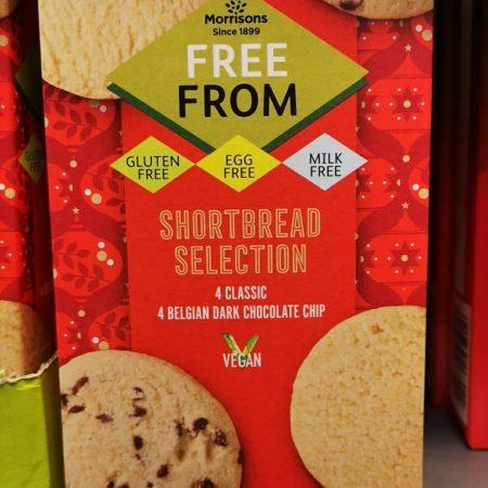 Morrisons Free From Vegan Shortbread Selection