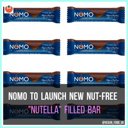 "Nomo To Launch ""Nutella"" Stlye Filled Chocolate Bar"