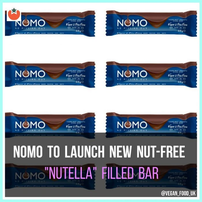 """Nomo To Launch """"Nutella"""" Stlye Filled Chocolate Bar"""