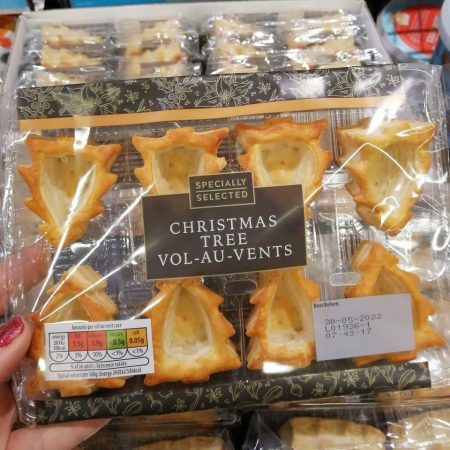 Aldi Christmas Tree Vol-Au-Vents