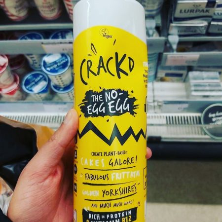 CRACKD – The No-Egg Egg Replacer 490g