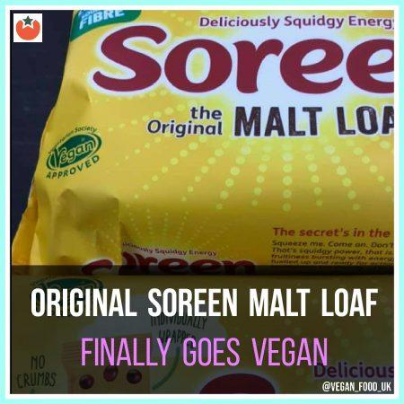 Original Soreen Finally Goes Vegan