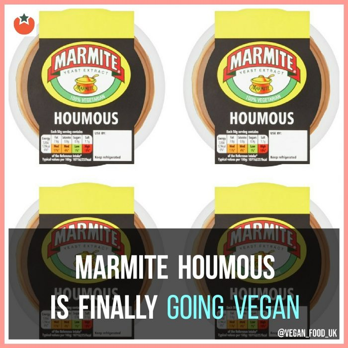 Marmite Houmous Is Finally Going Vegan