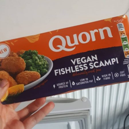 Quorn Vegan Fishless Scampi