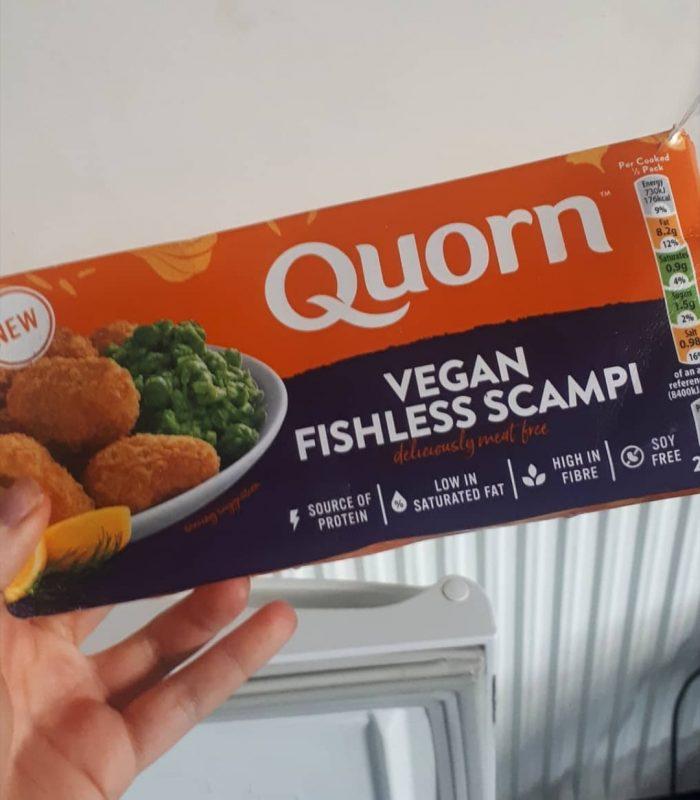 Quorn Vegan Fishless Scampi