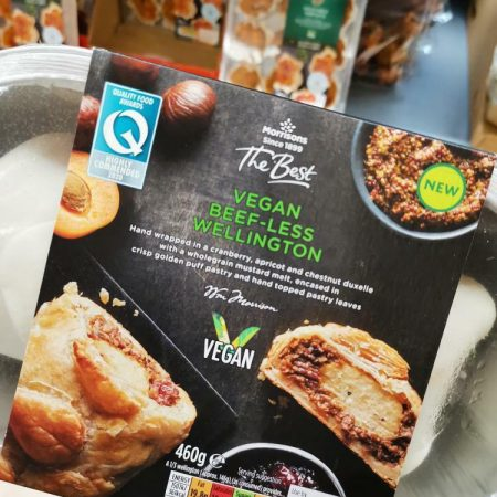 Morrisons Vegan Beef-less Wellington 460g