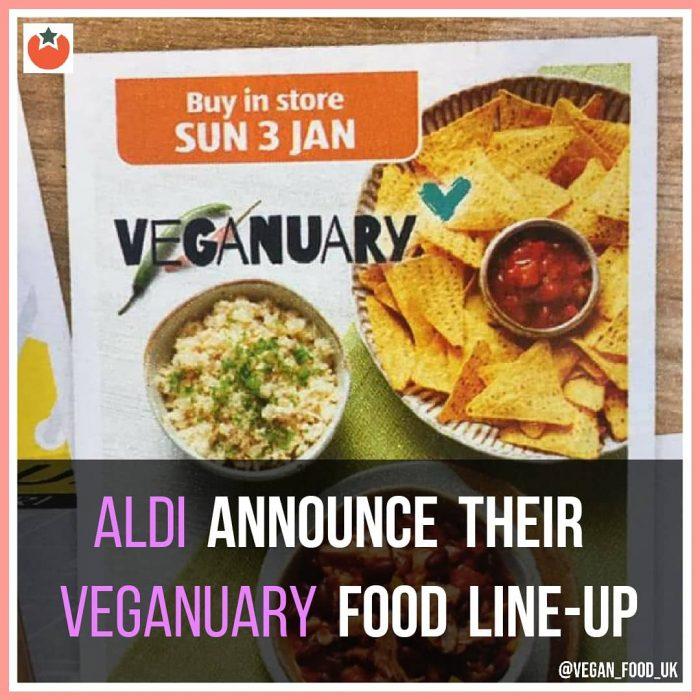 Aldi Announce Their Veganuary Food Line Up