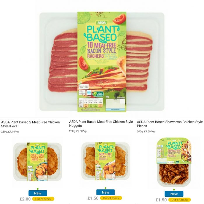 Asda To Launch New Meat Alternatives For Veganuary
