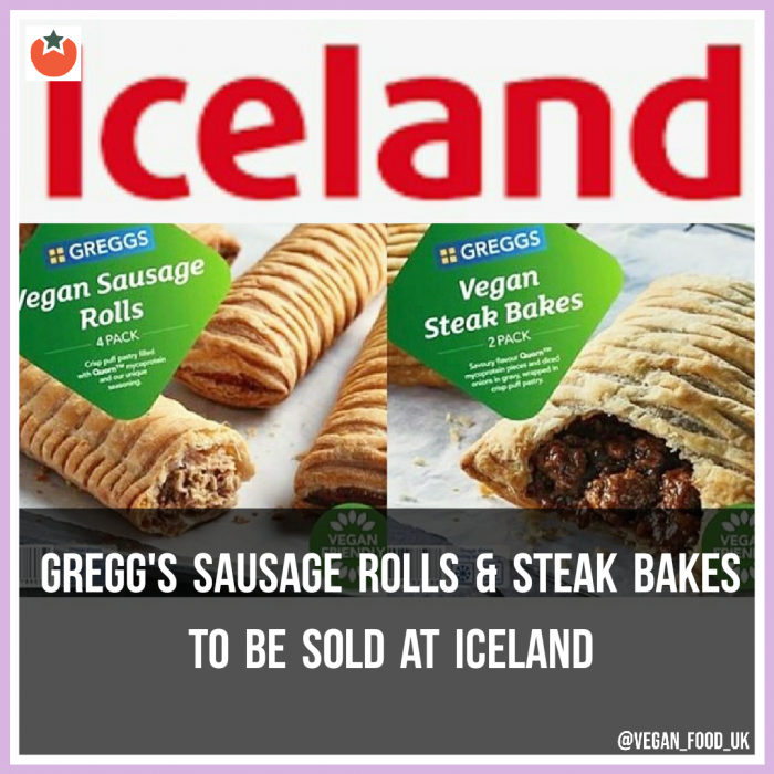 Gregg's Vegan Sausage Rolls To Be Sold At Iceland