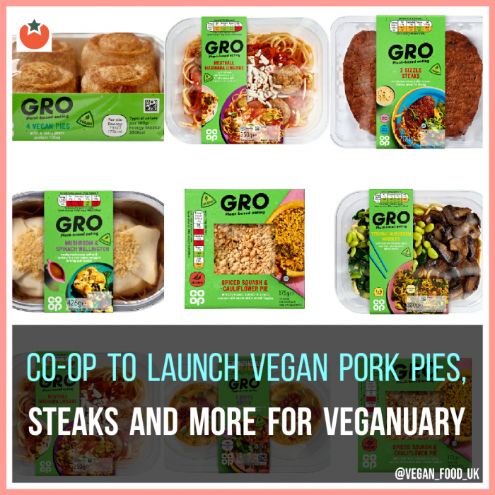 Co-op Announce Their Veganuary Food Line-Up