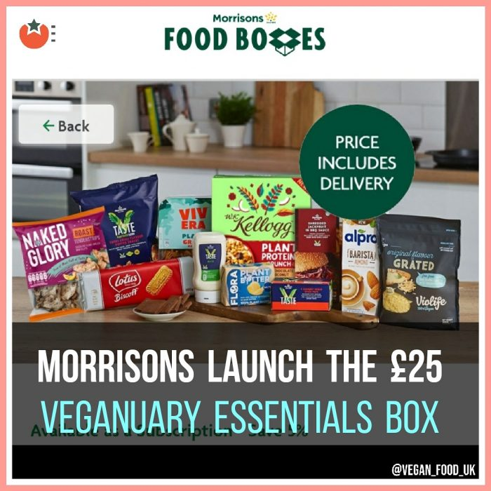 Morrisons Launch Veganuary Box