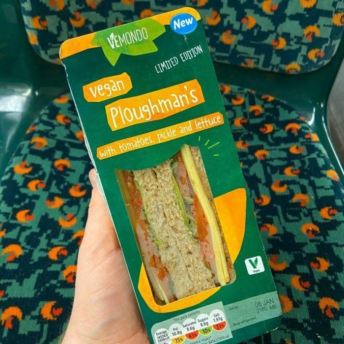Lidl Vemondo Vegan Ploughman's Sandwich