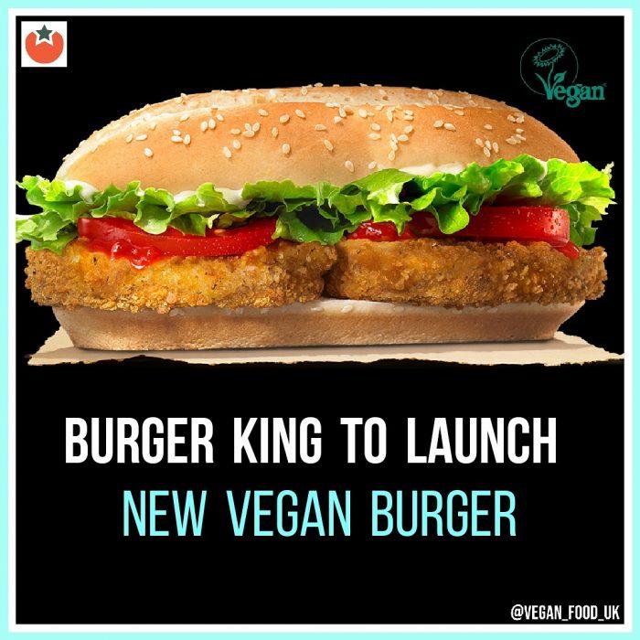Burger King To Launch New Vegan Burger