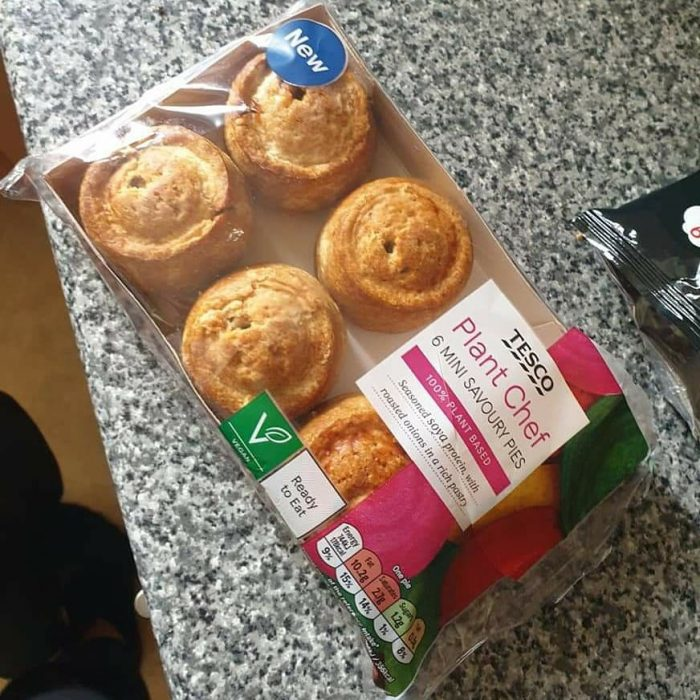 Tesco Plant Chef 6 Mini Savoury Pies