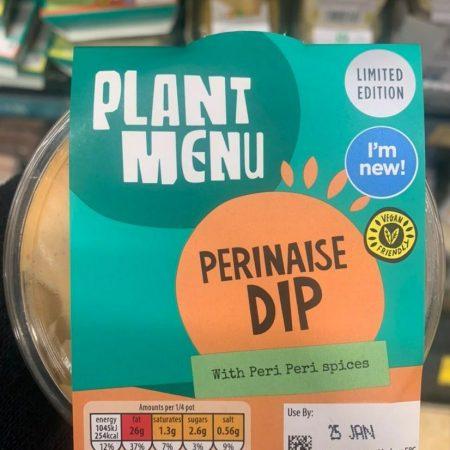 Aldi Plant Menu Perinaise Dip