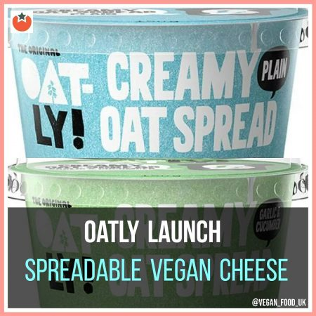 Oatly Launch Oat Cheese Spread