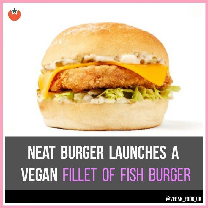 New Vegan Fillet O'Fish Burger Launches in London