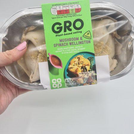 Co-op Gro Mushroom & Spinach Wellington 426g