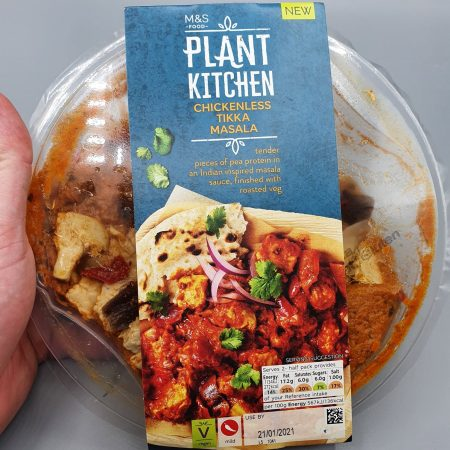 M&S Plant Kitchen Chickenless Tikka Masala
